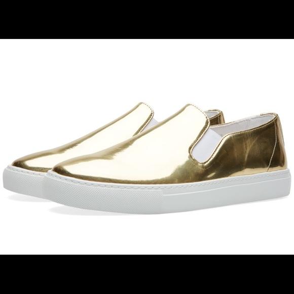 The Comme Des Garçons SHIRT Slip On Sneakers